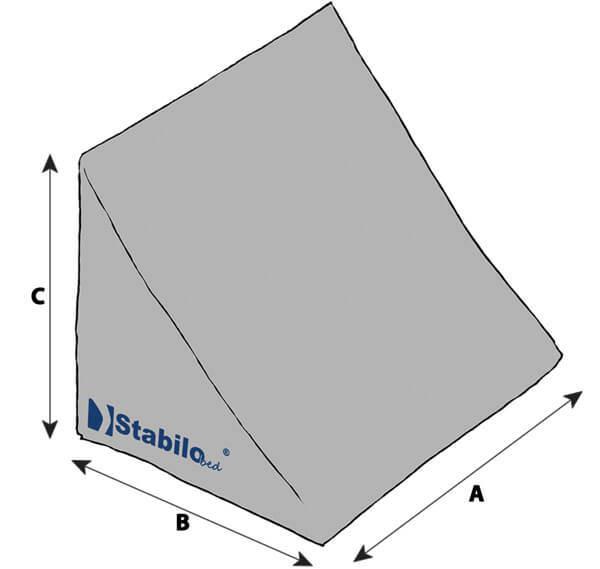 Technische Daten STABILObed® Lagerungskeil mit selbsthaftener Funktion