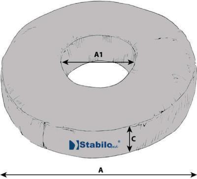 Technische Daten StabiloBed Ringkissen