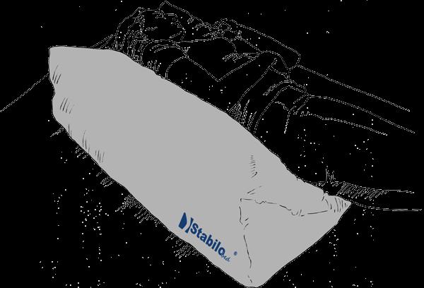 Lateral Positionierungskeil für die Stabilisierung der Seitenlage