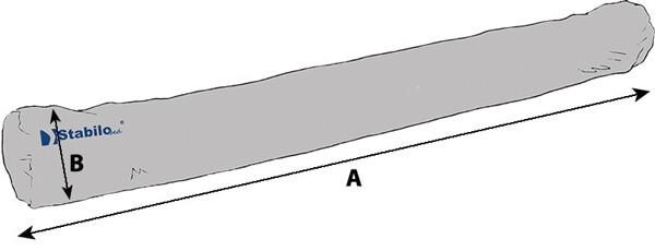 Technische Daten StabiloBed® Semi-Soft-Rolle