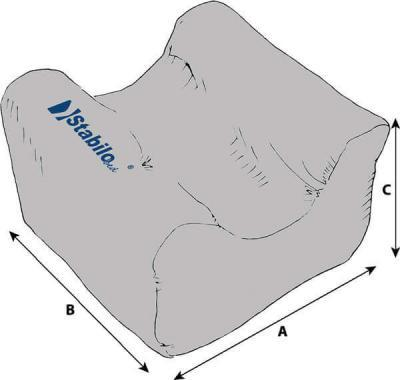 Technische Daten StabiloBed® Kopfstütze