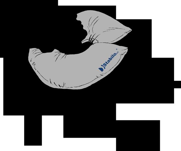 Nackenring Kopf- und Nackenstabilisierung in liegender oder sitzender Position