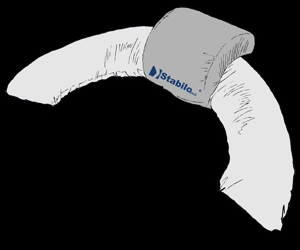 Thermoaktivkissen STABILObed<sup>®</sup> mit großem Ringkissen