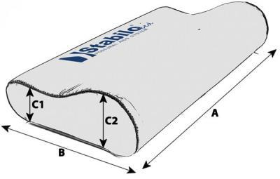 Technische Daten StabiloBed® Nackenkissen