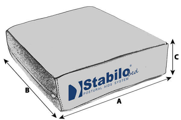 Technische Daten STABILObed® Universal Positionierungskissen