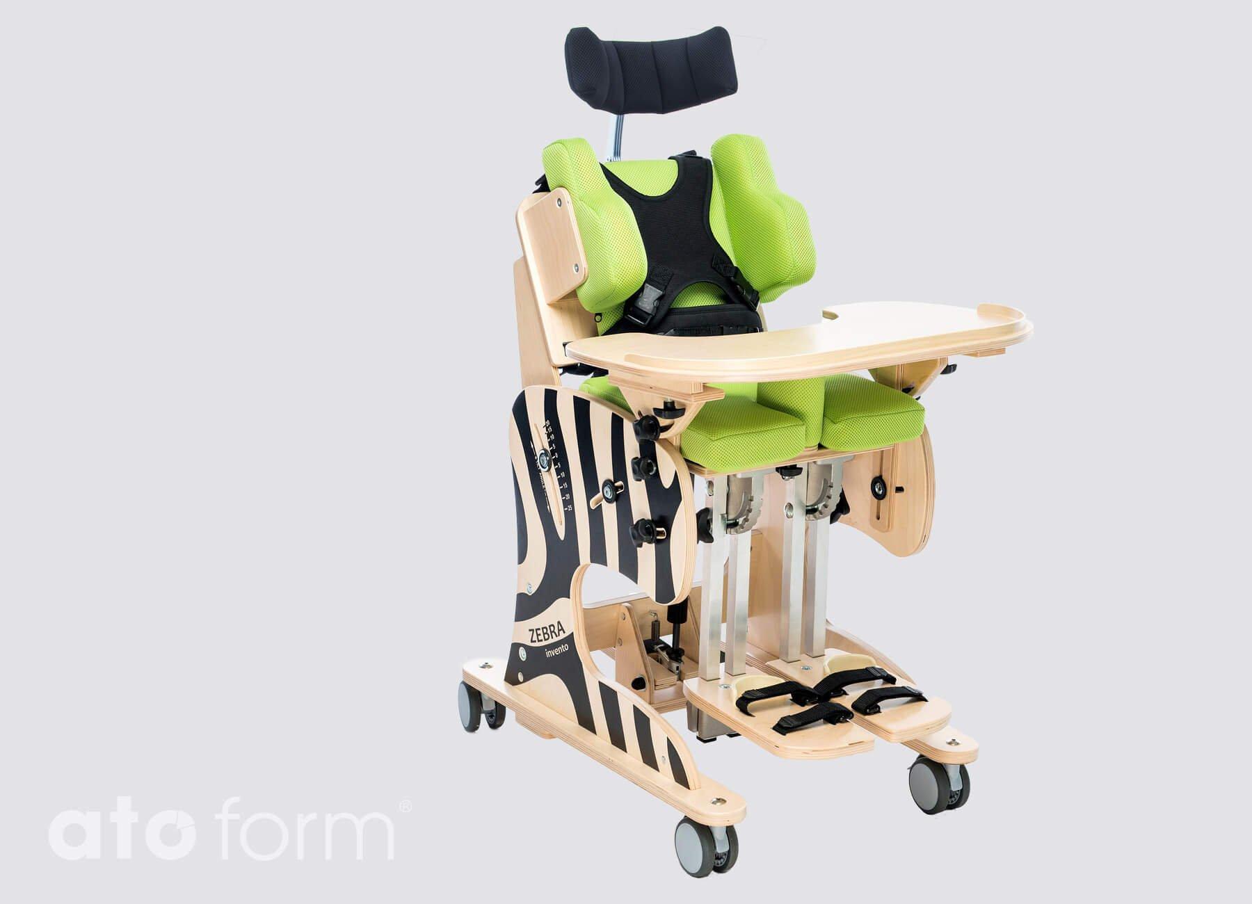 Therapiestuhl mit Liegefunktion Zebra Invento