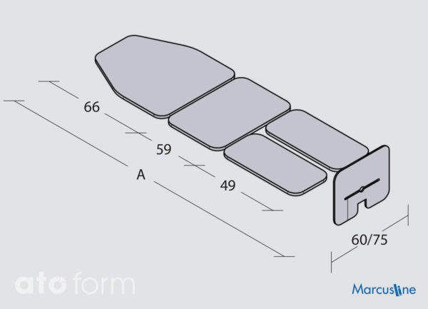 TiltTable MarcusLine für statische Übungen in der Rückenlage