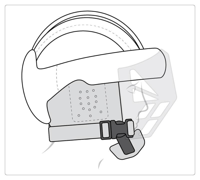 Starlight® Protect Plus, Ohrschutz, Visier und spezieller Kinnschutz