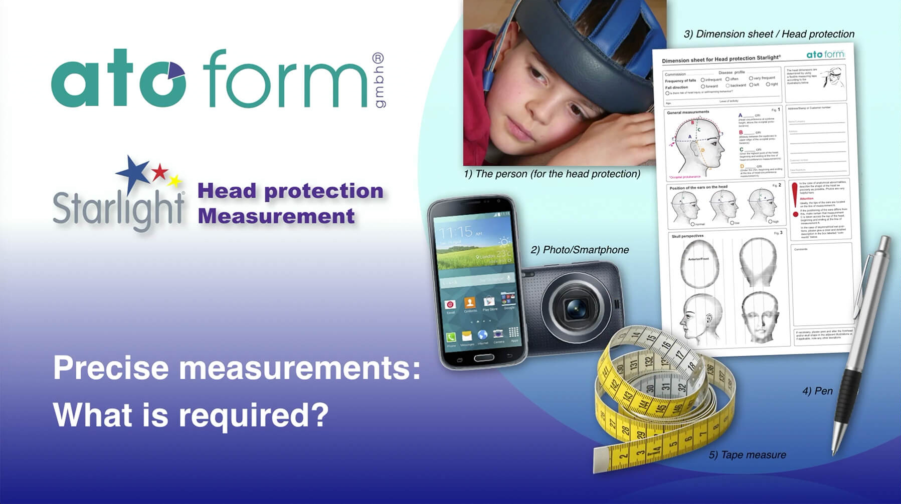 Measurement head protection