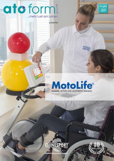 Aktive, passive und assistierte Bewegungstherapie Ergometer MotoLife®
