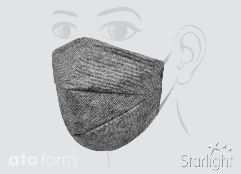 Mund-Nasen-Maske mit Abnäher