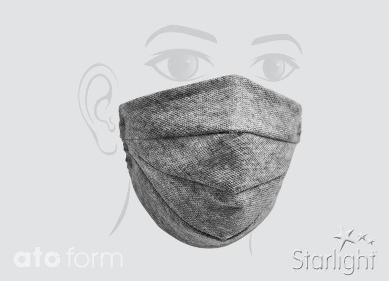 Mund-Nasen-Maske drei Abnäher