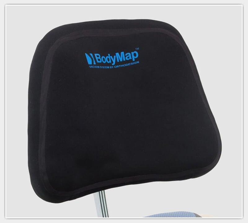 BodyMap-Kopfstütze mit HexgonPro Gelenk