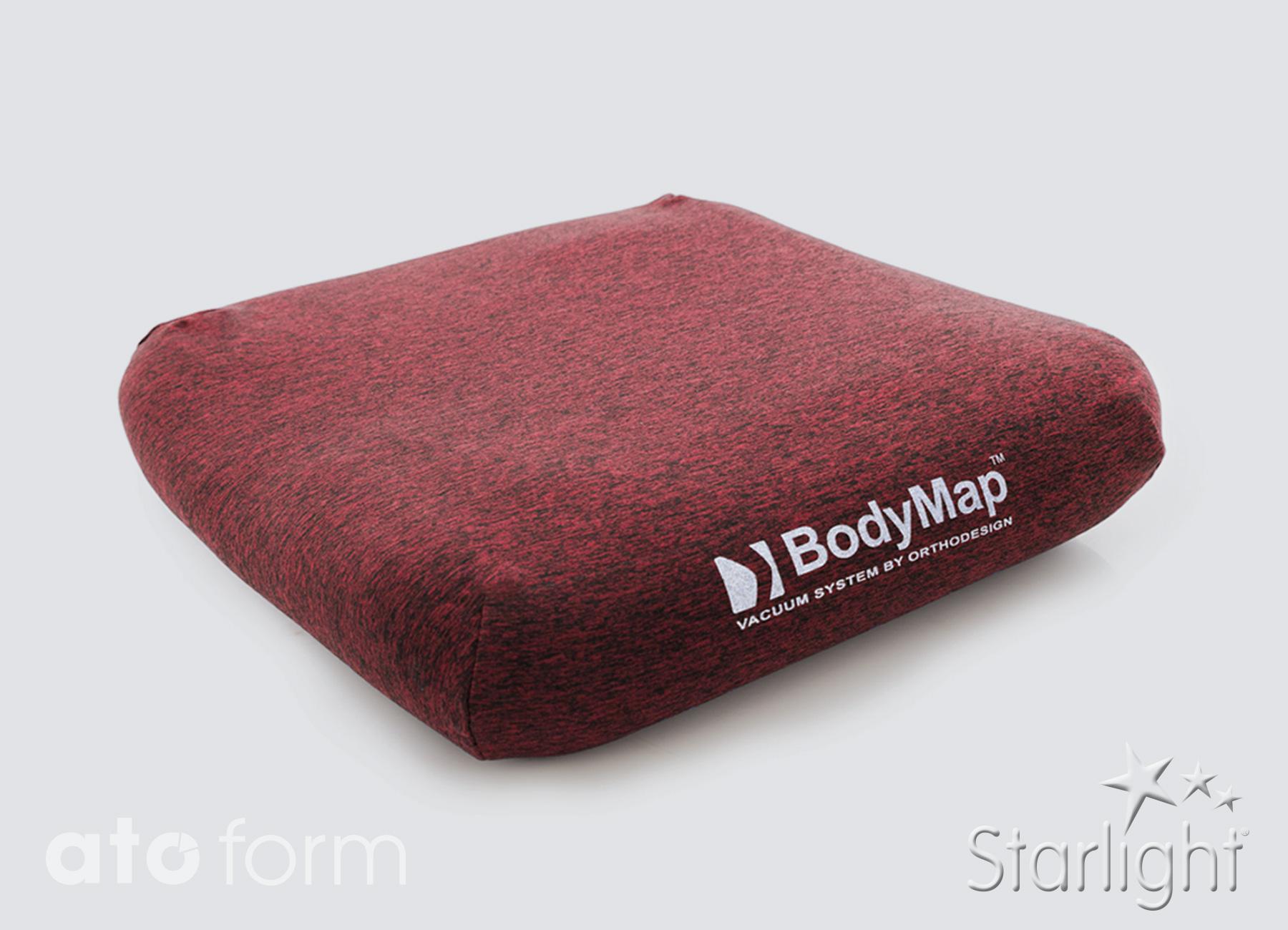 BodyMap Elastik Bezug Rot