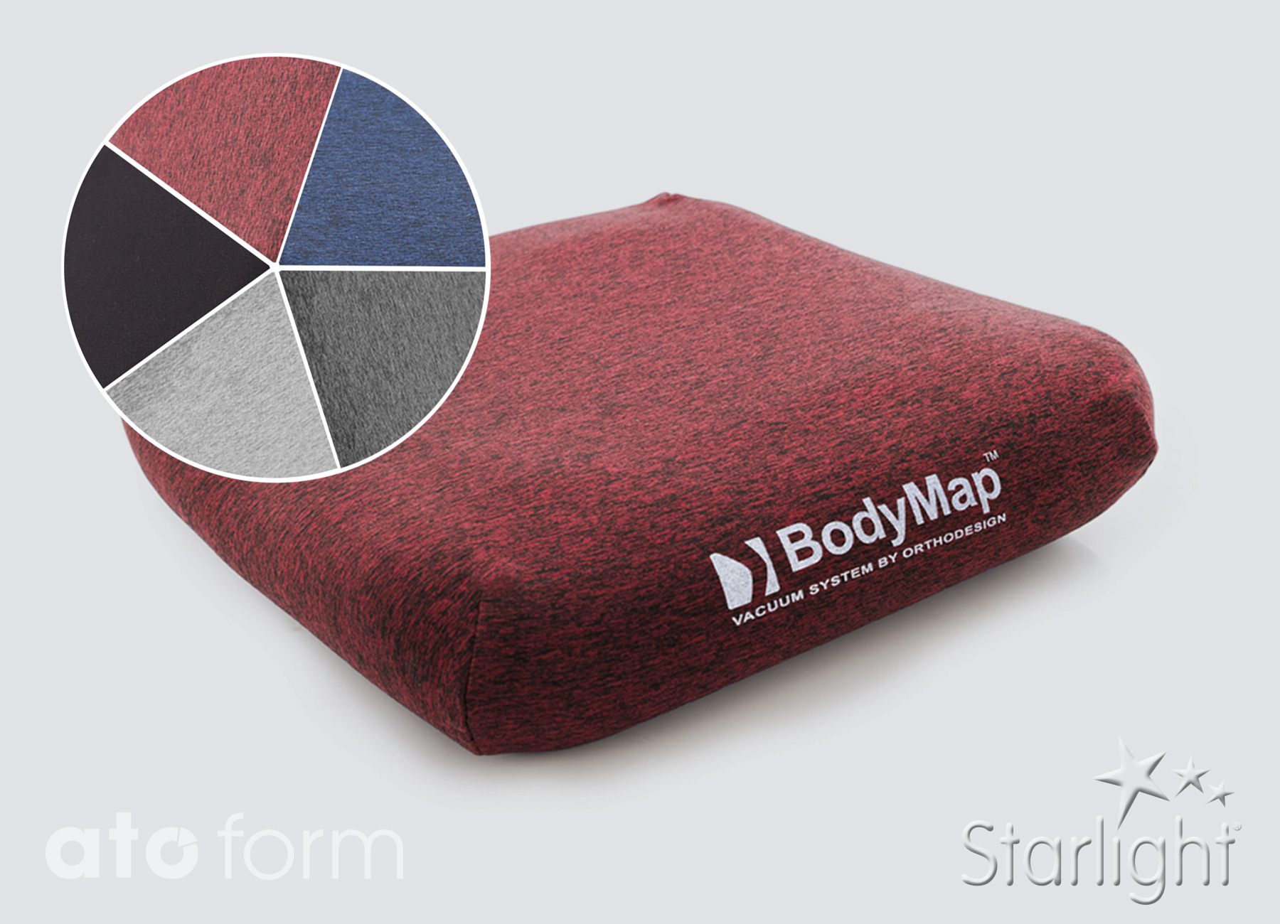 BodyMap Elastik Bezug